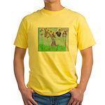 Positive Reinforcement Yellow T-Shirt