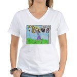 Positive Reinforcement Women's V-Neck T-Shirt