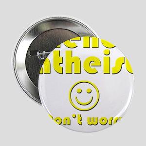 """friendly-atheist-nobite-dark 2.25"""" Button"""