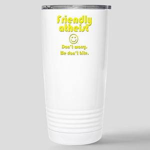 friendly-atheist-nobite-dark Travel Mug