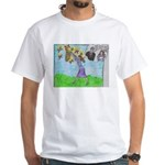 Positive Reinforcement White T-Shirt