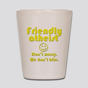 friendly-atheist-nobite-dark Shot Glass