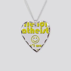 friendly-atheist-nobite-dark Necklace