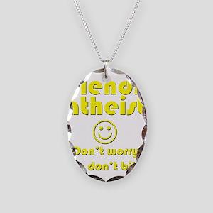 friendly-atheist-nobite-dark Necklace