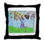 Positive Reinforcement Throw Pillow