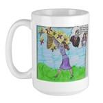 Positive Reinforcement Large Mug