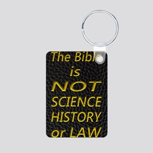 Bible is NOT Aluminum Photo Keychain