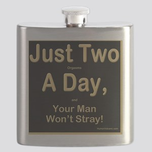 Just Two a Day Flask