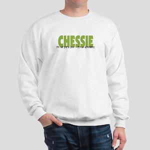 Chessie IT'S AN ADVENTURE Sweatshirt