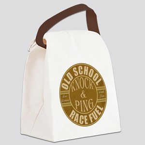 Hot Rod Drag Racing Fuel Canvas Lunch Bag