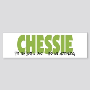 Chessie IT'S AN ADVENTURE Bumper Sticker