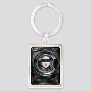 DIRTY LAUNDRY Portrait Keychain