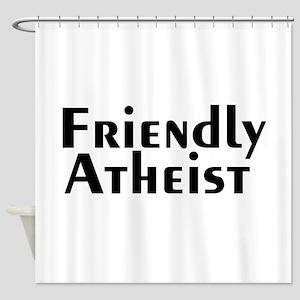 friendlyatheist2 Shower Curtain