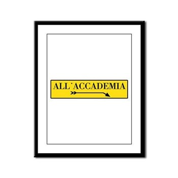 All'Accademia, Venice (IT) Framed Panel Print