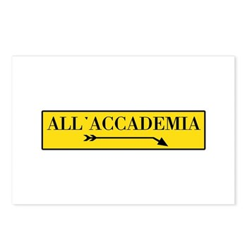 All'Accademia, Venice (IT) Postcards (Package of 8