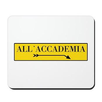 All'Accademia, Venice (IT) Mousepad