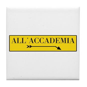 All'Accademia, Venice (IT) Tile Coaster