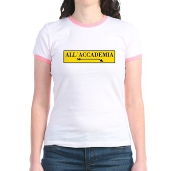 All'Accademia, Venice (IT) Jr. Ringer T-Shirt