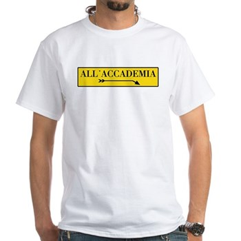 All'Accademia, Venice (IT) White T-Shirt
