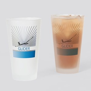 Aircraft Glider Drinking Glass