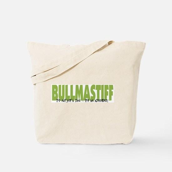 Bullmastiff ADVENTURE Tote Bag