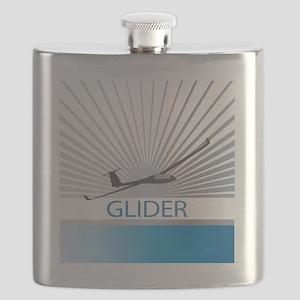 Aircraft Glider Flask
