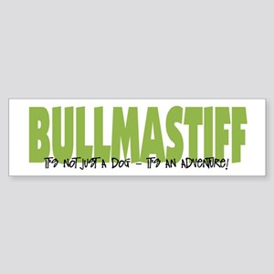 Bullmastiff ADVENTURE Bumper Sticker