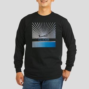 Aircraft Glider Long Sleeve Dark T-Shirt