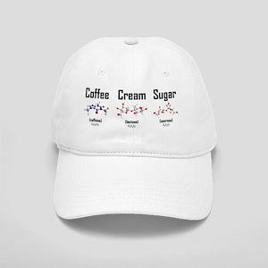 Coffee, Cream and Sugar Molecule Mug Cap