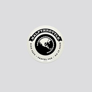 Halfthrottle circular design Mini Button