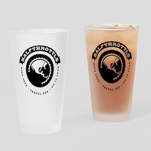 Halfthrottle circular design Drinking Glass