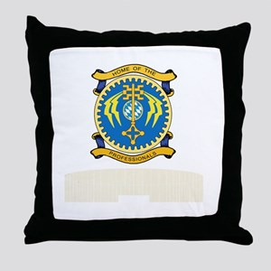 FSAvCh_HoP_Reunion_Tshirt_BW Throw Pillow