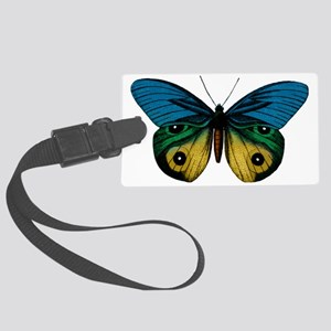 Butterfly Eyes Large Luggage Tag