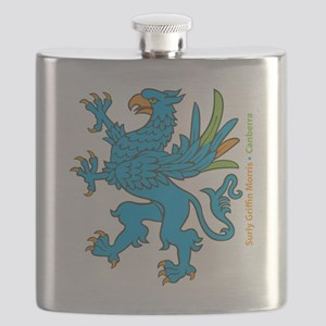 Full, side text Flask