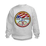 USS ALABAMA Kids Sweatshirt