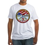 USS ALABAMA Fitted T-Shirt