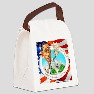 T-shirt OBAMA Canvas Lunch Bag