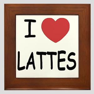 LATTES Framed Tile