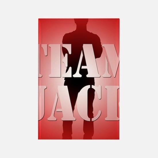Team Jack Rectangle Magnet