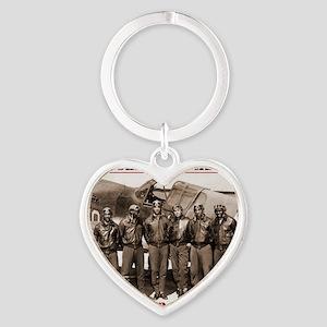 Airmen41 Heart Keychain
