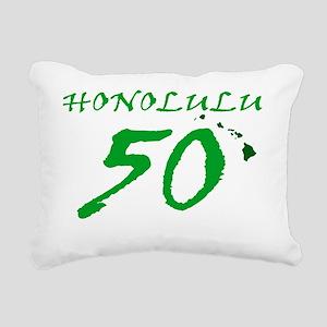Honolulu 50 Rectangular Canvas Pillow
