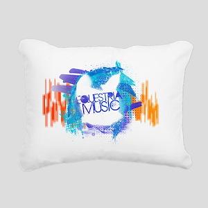Equestria Music Design 1 Rectangular Canvas Pillow