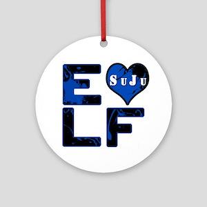 ELF - SuJu Round Ornament
