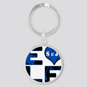 ELF - SuJu Round Keychain