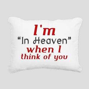 In heaven - jyj Rectangular Canvas Pillow