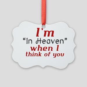 In heaven - jyj Picture Ornament