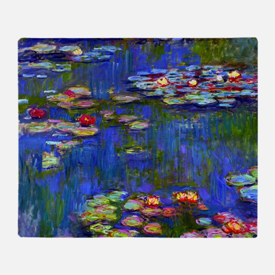 Frame Monet WL1916 Throw Blanket