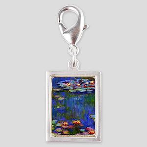 J Monet WL1916 Silver Portrait Charm