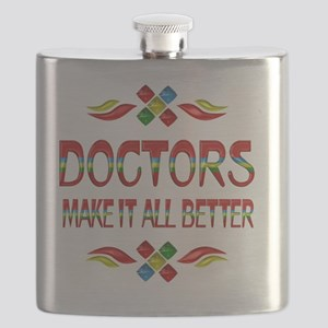 Doctor Appreciation Flask