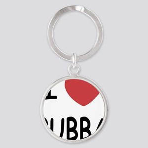BUBBA Round Keychain